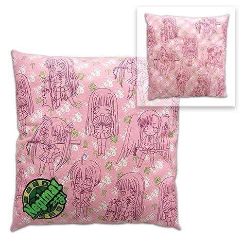Negima: Pillow - Girl Pattern Anime Plushies