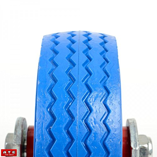 6'' Fixed Caster Tire Trailer Tire Flat Free Tire Wheel 1pc
