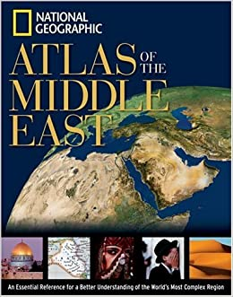 National Geographic Atlas Of The Middle East National Geographic - Middle east physical map 2003