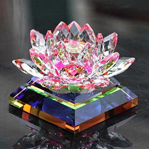 Bigfanshu Home Decor New Car Decoration Car Seat Crystal Lotus Car Perfume Bottle Car Interior Supplies Creative Ornaments Gifts