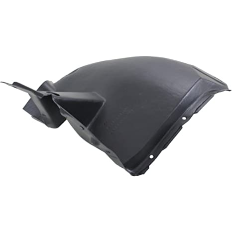 Passenger Side Fender Splash Shield For Cadillac CTS 03-07 Plastic Front