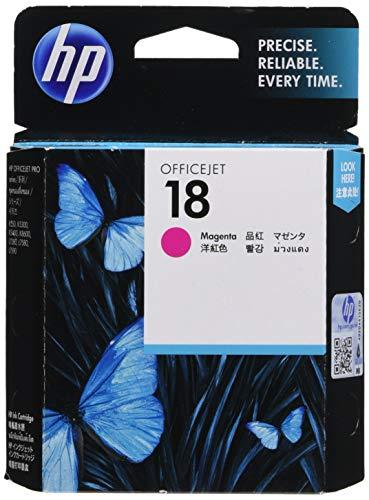 HP 18 Original Ink Cartridge, Magenta