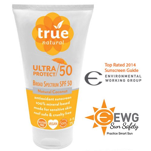 True Natural ULTRA PROTECT SPF 50, Antioxidant Sunscreen 2.5 fl.oz.
