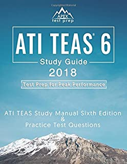 Ati teas secrets study guide teas 6 complete study manual full ati teas 6 study guide 2018 ati teas study manual sixth edition and practice test fandeluxe Choice Image