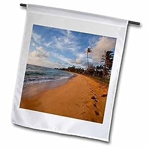 Danita Delimont - Hawaii - Sunrise, Kapaa Beach Park, Kauai, Hawaii - US12 DPB2071 - Douglas Peebles - 12 x 18 inch Garden Flag (fl_89775_1)