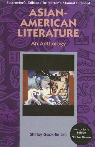 Download Asian-American Literature: An Anthology pdf epub
