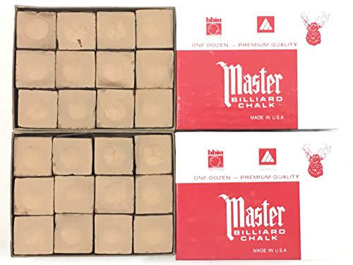 Made in the USA - 2 Boxes of Master Chal - Gold Pro Pool Cue Shopping Results