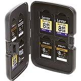 Plano SD Card Holder Box, Black, One Size