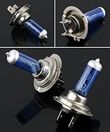 Amazon Com Xenon Hid Hyper H7 Headlight Bulbs Lights For Yamaha Yzf R6 2003 2009 Automotive