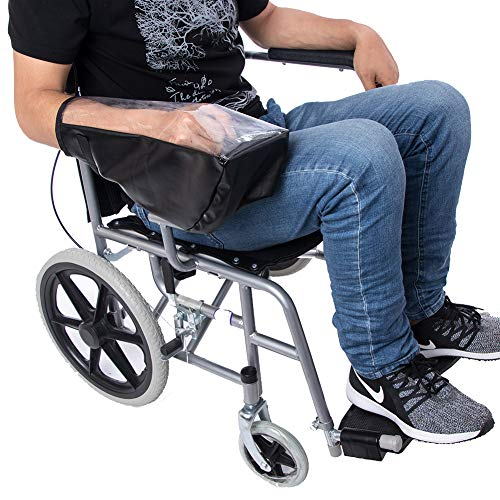 Power Wheelchair Accessories, Waterproof Power Wheelchair Arm Joystick Cover, Electric Wheelchair Control Protector Cover- Keep Dry JJZ161 ()