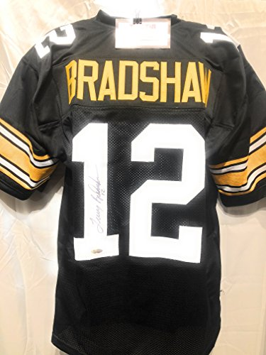Authentic Jersey (Terry Bradshaw Pittsburgh Steelers Signed Autograph Custom Jersey Tristar Authentic Certified)