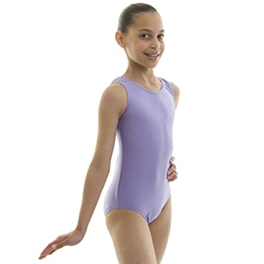 b4343ee86 Dance Gear Wendy Children s Nylon Lycra Sleeveless Leotard  Amazon ...