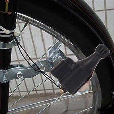 Alloet - Faros Delanteros y Traseros para Bicicleta (luz Dinamo ...