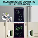 Image of Boogie Board Jot 8.5 LCD Writing Tablet + Stylus Smart Paper for Drawing Note Taking eWriter Blue