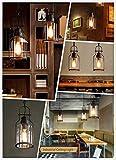 "SUSUO Lighting 6"" Wide Vintage Industrial Glass"