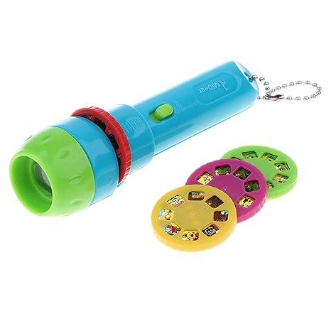KESOTO Linterna Proyector Cuentos para Bebés Niños Lámparas ...