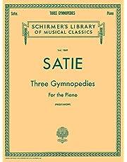 3 Gymnopedies: Schirmer Library of Classics Volume 1869 Piano Solo