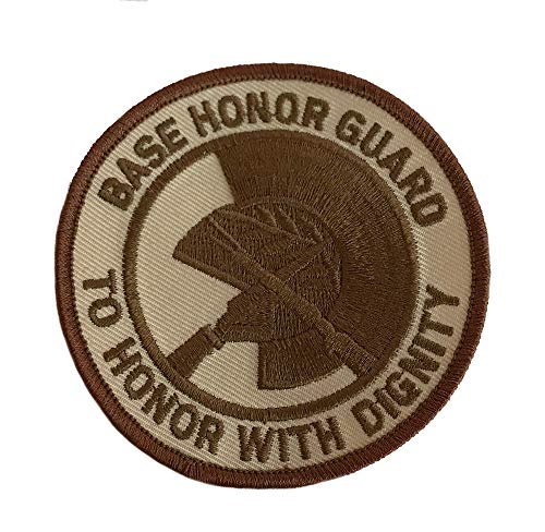 (USAF BASE HONOR GUARD DESERT PATCH)