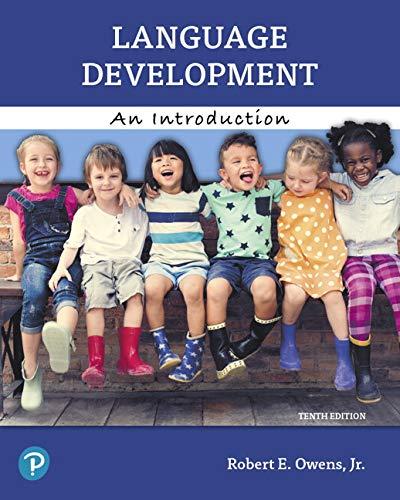 - Language Development: An Introduction, Enhanced Pearson eText -- Access Card (10th Edition)