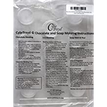 Cybrtrayd Life of the Party AO032 Medium Peanut Butter Cup Chocolate Candy Mold in Sealed Protective Poly Bag Imprinted with Copyrighted Cybrtrayd Molding Instructions