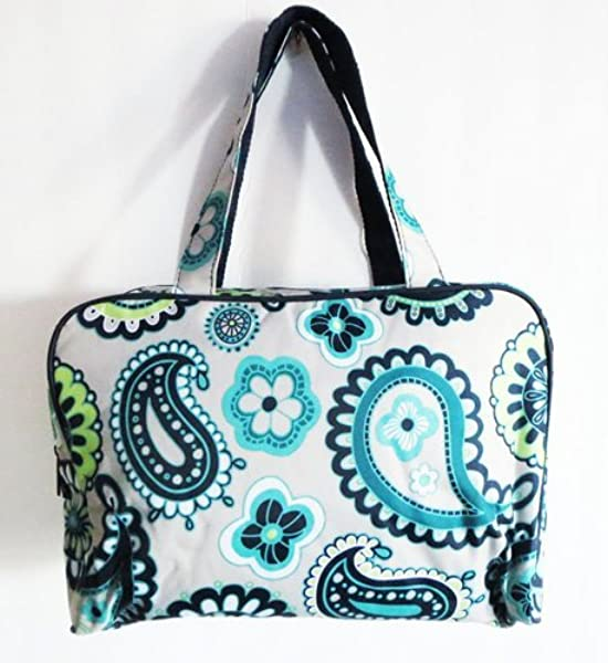 181a290cd94a Amazon.com  Defective Thirty One Bag Handle-It Cosmetic Bag in Paisley Day   Shoes