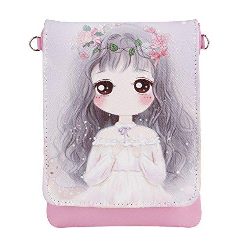 Handbag Cute Mini Phone Money Clutch Kids 7 Small Body Cell Girls Teens Shoulder Cross Pouches Purse Case Key Wallet 2r Theme Cartoon Holder Bags Students Bags qFgnZt