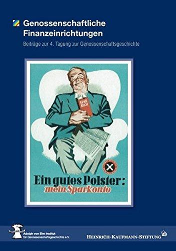 Genossenschaftliche Finanzeinrichtungen (German Edition) ebook