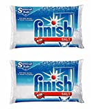 Finish Dishwasher Water Softener Salt For Bosch Dishwasher 2-Pack 8.8 Lbs