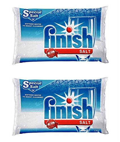 Finish Dishwasher Water Softener Salt For Bosch Dishwasher 2-Pack 8.8 Lbs