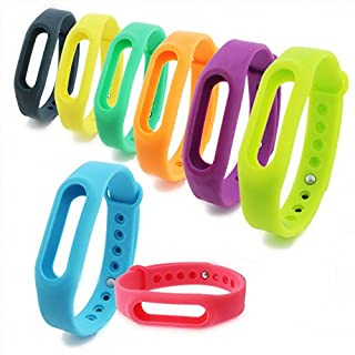 Taotree 8pcs 8 Colors Xiaomi Replacement Wrist Band for Xiaomi Mi