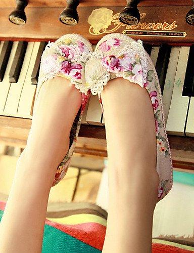PDX tela de zapatos de mujer tal rxqr17TwBZ