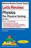 img - for Let's Review Physics: The Physcial Setting (Let's Review Series) book / textbook / text book