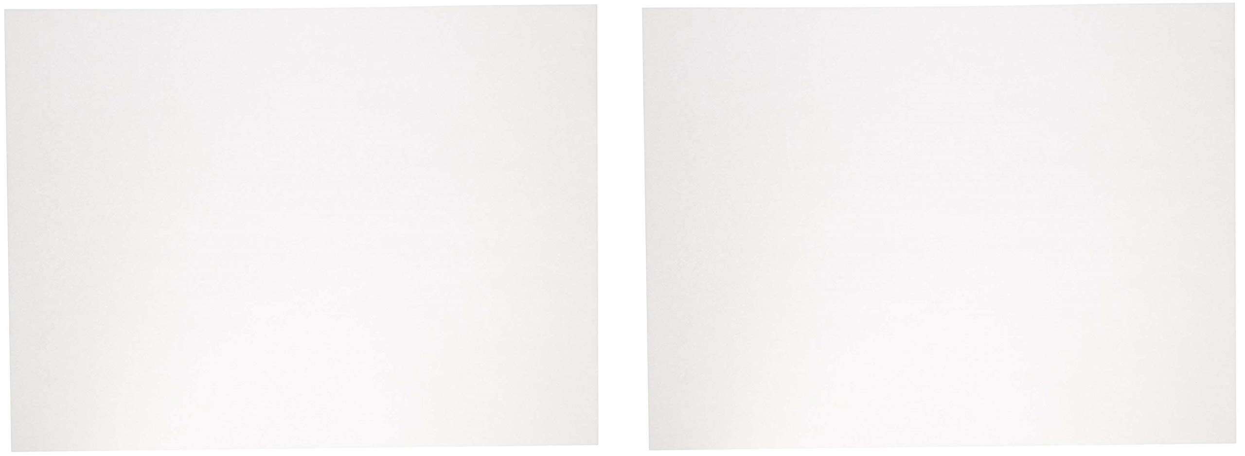 Sax Sulphite Drawing Paper, 60 lb, 18 x 24 Inches, Extra-White, Pack of 500 (2 X Pack of 500) by Sax