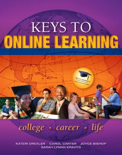 Keys to Online Learning Plus NEW MyStudentSuccessLab  Update -- Access Card Package (Keys Franchise)