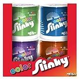 4-Pack Colored Metal Original Slinky