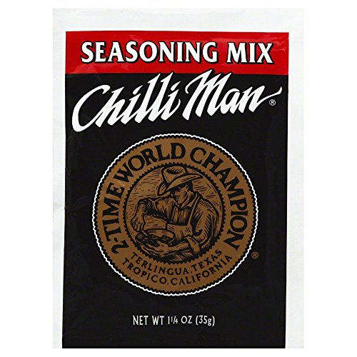 Chilli Man Chilli Seasoning Mix, 1.25 oz (Pack of 24)