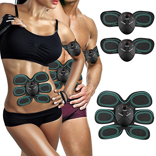 AUKUYEE Muscle Toning Tool Fitness Equipment for Men Women, Home and Office, Abdomen/Arm/Leg