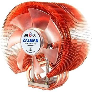 Amazon Com Zalman Led Aluminum Copper Cpu Cooling Fan