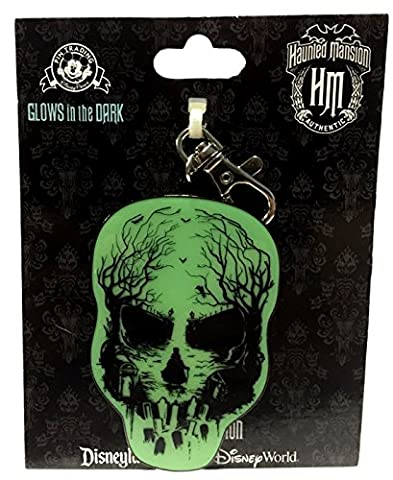 Disney Parks Haunted Mansion Glow in the Dark Lanyard Medal (Disney Pin Grab Bag)