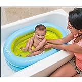 XiYunHan Baby swimming pool Inflatable tub Thicken baby Bathtub Bathing pool Inflator
