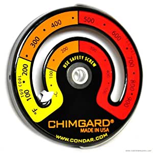 Chim Gard Model 3-4 Stovepipe Thermometer