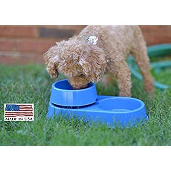 Pet Supplies : Ant Free Pet Bowls, Pack of 2 : Ant Proof