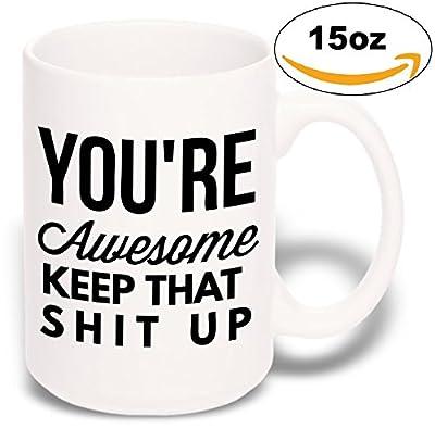 15 oz Large Funny Mug