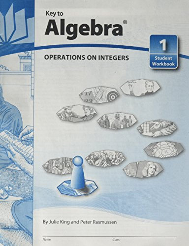 (Key To Algebra Book 1: Operations On Integers (KEY TO...WORKBOOKS))