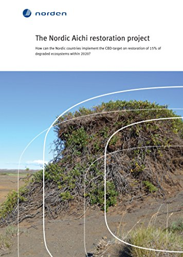 The Nordic Aichi restoration project: How can the Nordic countries implement the CBD-target on restoration of 15% of degraded ecosystems within 2020? (TemaNord Book 2015515)