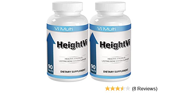 Amazon.com: Height Supplements will help you Grow Taller with the top Height Vitamins. Build stronger bones and experience a height increase without height ...