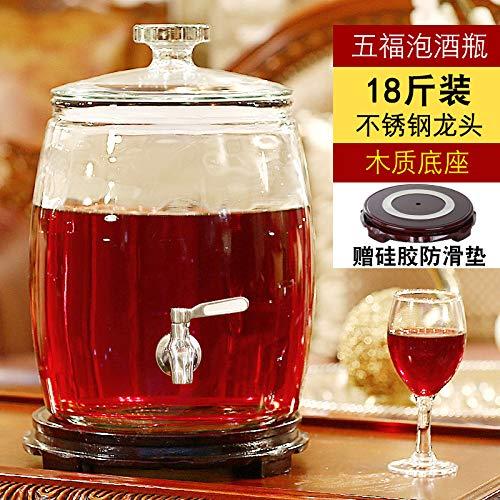 Grifo de lavabo Botella de vino de vidrio HTC con vino líder ...