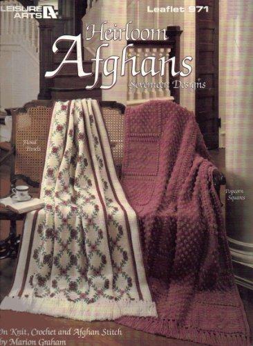 Leisure Arts Crochet Leaflet (Heirloom Afghans 17 Designs Leaflet #971 (In Knit, Crochet, and Afghan Stitch))