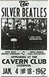 #6: Silver Beatles Concert reprint mini poster w/ FREE Gift & FREE US SHIPPING