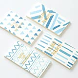 4 pcs elegant mini planner agenda todo list Kawaii notebook diary notepad Stationery Office accessories